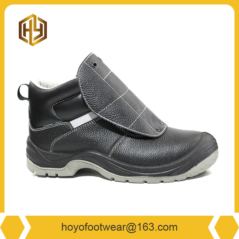 New split leather EVA insole safety shoes