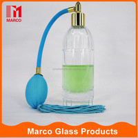 cylindrical airbag wholesale blue gas bag China manufacturer perfume glass bottle