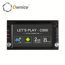 Ownice 8 Core Android 6.0 Car GPS stereo for nissan universal support TV OBD DAB GPS NAVI RADIO Built 4G LTE