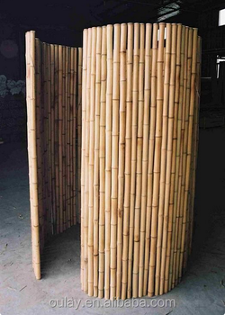 Outdoor Design And Bamboo Fence Panels For Bamboo Fencing