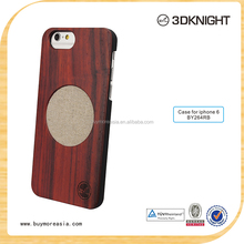 Customized pure bamboo wooden cover for iphone 6 case wood 4.7 inch