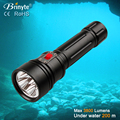 long life span DIV15 rechargeable diving lamp flashlight