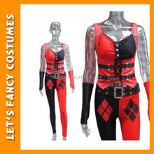 PGWC2914 Hot Selling Adult Cosplay Harley Quinn Plus Sexy Fancy Dress Costume Carnival Costume