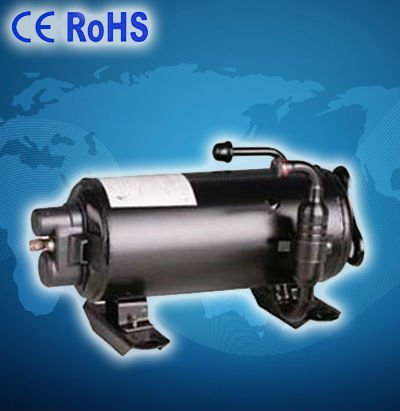 Roof top mounted compressor for automotive a/c of Caravan camping car travelling truck
