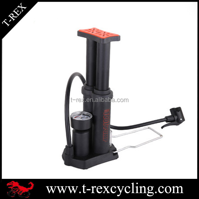 OEM 150psi mini bicycle foot pump portable schrader and presta pump