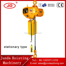 compact mechanism 0.5 ton 1 ton small electric chain hoist 380V