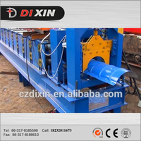Botou City Classic Galvanized Aluminum Colored Glaze Steel Metal Roof Ridge Cap Tile Cold Roll Forming Making Machine