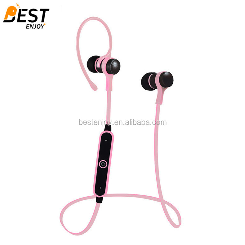 2016 top selling bluetooth sport headphone with mic spor