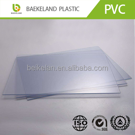 1mm 2mm 3mm thickness Transparent colored clear pvc plastic sheet