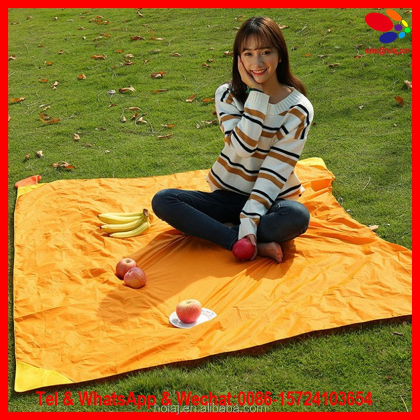 Pocket Blanket Camping/Beach/Picnic blanket Ultra-lightweight water resistant sand free mat