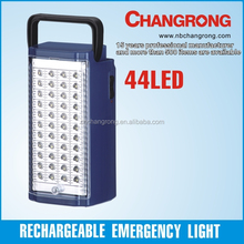 portable 6V 4.5Ah battery 44 LED emergency lighting for home use