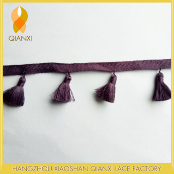 Home textile accessories 5CM pillow tassel manual fringe trimming
