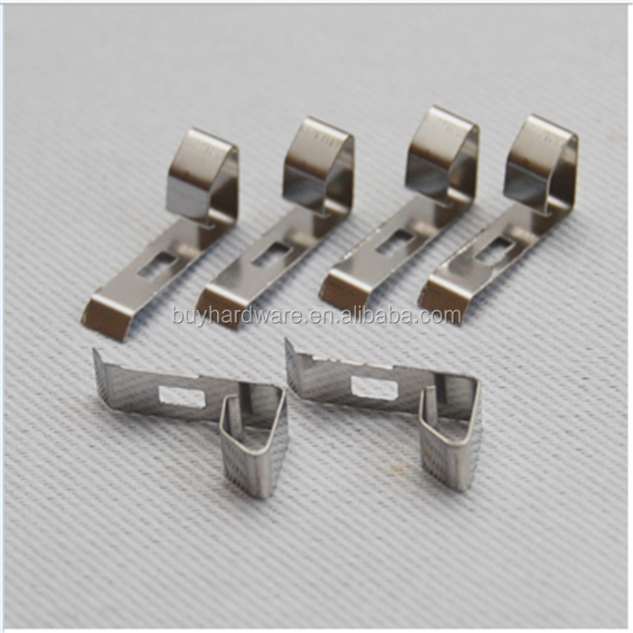 customized metal stamping stainless steel clip fasteners