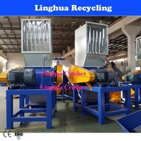CE &Waste plastic bottles and film crusher