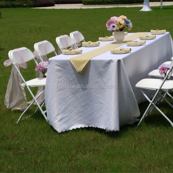 China Cheap Outdoor Plastic Folding Chairs for Wedding Wholesale Price