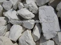 Calcined flint clay