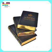 professional book printer thick Islamic holy bible printing service