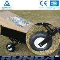 13x5.00-6 garden trailer pu solid wheel