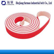 Special Processing Double-sided Teeth Timing Belt With Red Rubber Coated