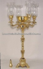 Gold-plated exclusive Candelabra 2012 HOT SELLING