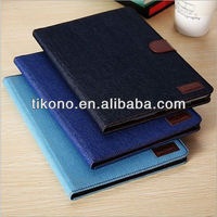 Hot hot hot jean cover for 5 ipad,durable case for ipad air
