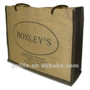 2012 high quality wine bottle jute bag