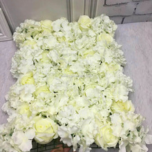 FlowerKing artificial flowers for wedding backdrop decorative intensive artificial wedding fabric flower wall