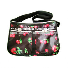 least design fruit printed messenger bag for ladies
