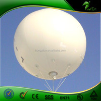 Cheap White Inflatable Helium 0.18 mm PVC Balloon Inflatable Customized Design Advertising Promotion Ball Giant Balloon
