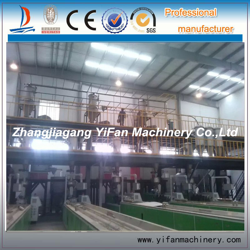 Customized weighing pvc compounding system for construction industry