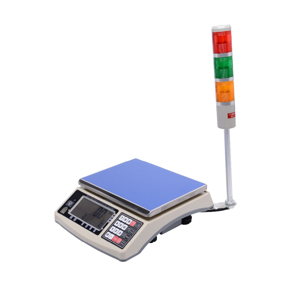 Functional Digital LCD Electronic Weighing Scale