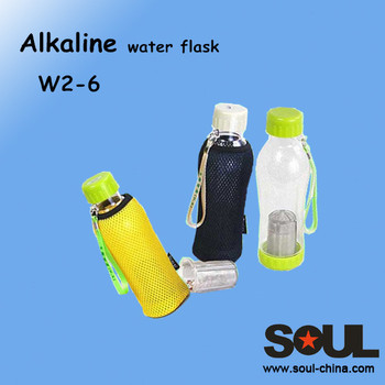 450ml high quality plastic traveling water ionizer flask W2-6