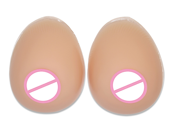 Silicone Sex Doll Hot Sex Silicone Breast Forms Little Concave On Backside for Crossdresser Shemale