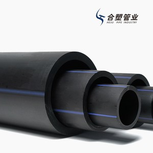 New Material HDPE/PE 100 Black Irrigation Pipe PN 0.6MPa for Water Supply