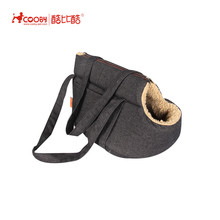 Expandable Foldable Washable Travel lamb wool dog bag pet carrier
