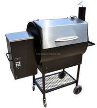 Electirc pellet smoker bbq grill with PID digital controller/BBQ 075