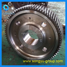 carbon steel 16Mn cylindrical gear wheel