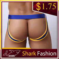 Shark Fashion Mens Hot Sexy Underwear Novelty Drawers Erotic Double Thongs