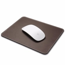 Anti slip rubber pu leather gaming custom mouse pad