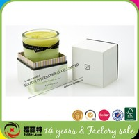 Custom luxury gift candle packaging boxes wholesale