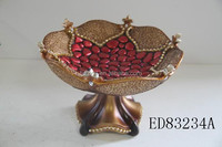 resin bowl for home decoration