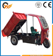 Advanced On-time delivery cargo tricycle with cabin garden mini dumper