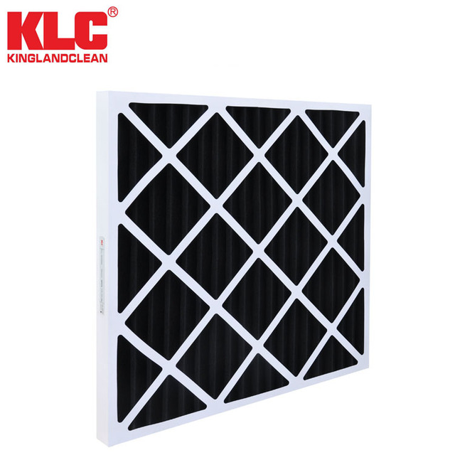 Activate carbon filter paper frame pleat pre-filter G2 G3 G4 remove odor