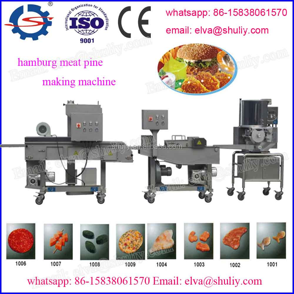 Full automatic different capacity various roasted fish fillet steak machine