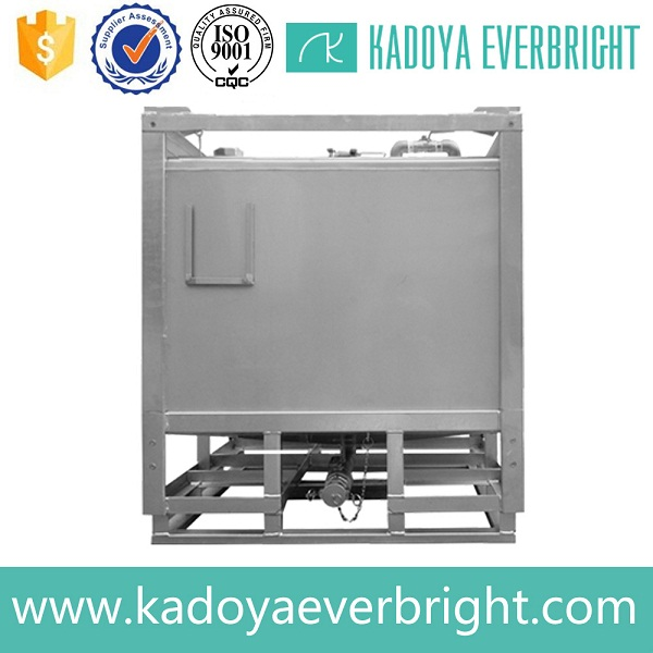 Different capacity hot-dip galvanized steel ibc tank dimensions
