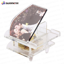 Fancy Design Crystal Music Box Musical Mini Crystal Piano Souvenir BSJ-16