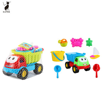 2019 Interesting Multi New Soft Plastic Colorful Mini Truck Tools Sets Outdoor Beach Toys.