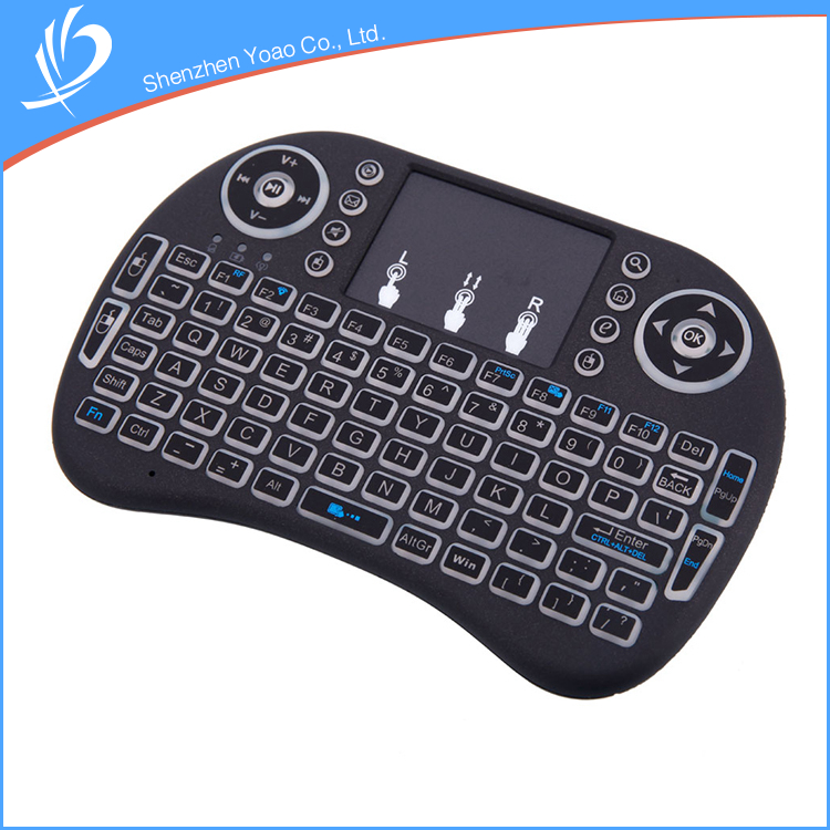 Latest Top-grade Smart Flexible LED Backlight Android TV Box Keyboard