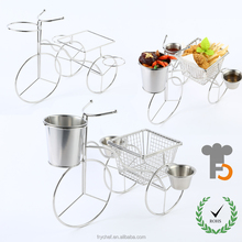 SGS , NSF,FDA Tabletop Food Display Rack / Serving Stand /Catering Food Tray F0102