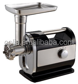 Shield Distribution Electric Meat Grinder 1300 Watt Steel Industrial Heavy Duty